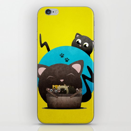 Mommacat iPhone & iPod Skin