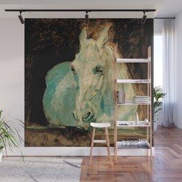 "Henri de Toulouse-Lautrec ""The White Horse Gazelle"" Wall Mural"
