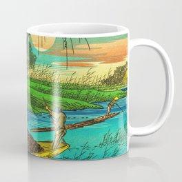 Seba Ohta River Japan Ukiyo e Art Coffee Mug