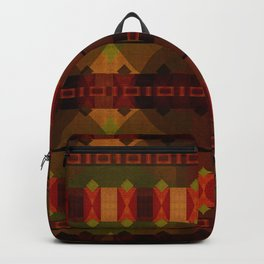 """Full Colors Tribal Pattern"" Backpack"