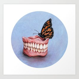 Teeth Study Art Print