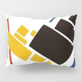 Geometric Abstract Malevic #11 Pillow Sham