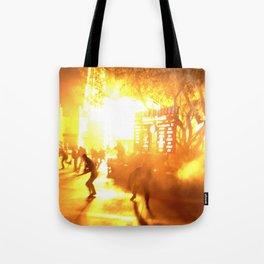 The Zombie Apocalypse  Tote Bag