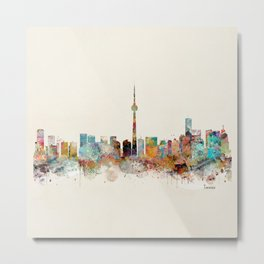 Toronto Ontario skyline Metal Print