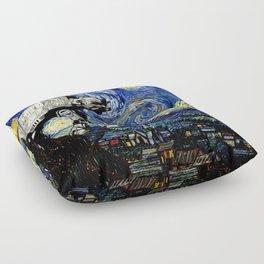 Starry Night versus the Empire Floor Pillow