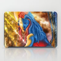 archer iPad Cases featuring Elf Archer by James Thor