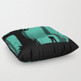 Lost In The Woods Floor Pillow