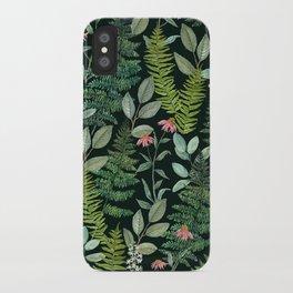 Pacific Northwest Plants iPhone Case