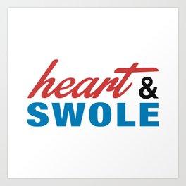 Heart & Swole Art Print