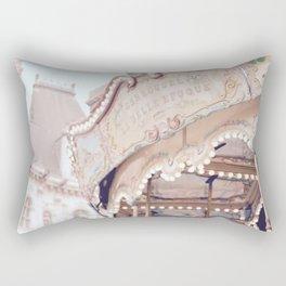 Classic Paris French Carousel Rectangular Pillow