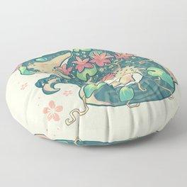 Aquatic buddies Floor Pillow