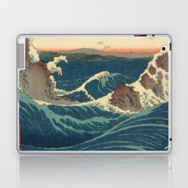 Vintage poster - Japanese Wave Laptop & iPad Skin