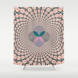 Fractal Abstract 12 Shower Curtain