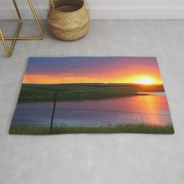 North Dakota Sunset Rug