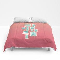 Bricks & Windows Comforters