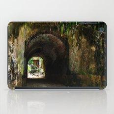 Old tunnel 2 iPad Case