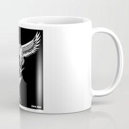 crouching shark hidden eagle ecopop Coffee Mug