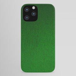Emerald Green Ombre Design iPhone Case
