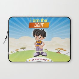 I am the Light of the world. Laptop Sleeve