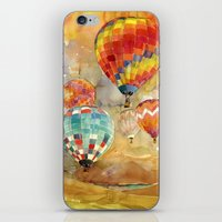 balloons iPhone & iPod Skins featuring Balloons by takmaj