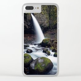 Ponytail Falls, Oregon Clear iPhone Case