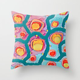 Abstract C5 Throw Pillow