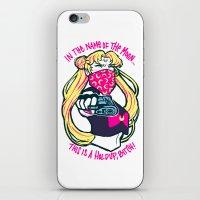 sailormoon iPhone & iPod Skins featuring Thug Usagi by asieybarbie