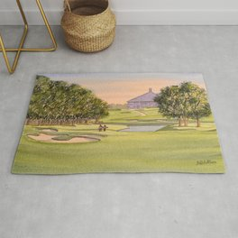 The Australian Golf Club Hole 7 Rug