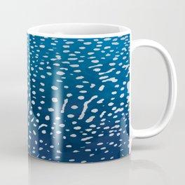 Whale shark skin. Coffee Mug