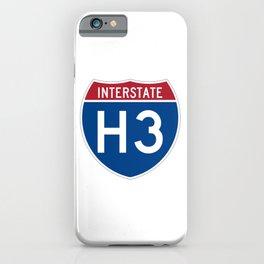 Interstate H-3 Shield  iPhone Case