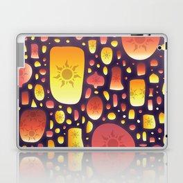 Tangled Lanterns Pattern Laptop & iPad Skin