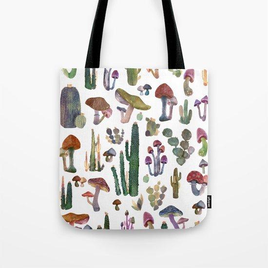 Cactus and Mushrooms NEW!!! Tote Bag