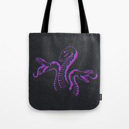 3 Headed Snake Tote Bag