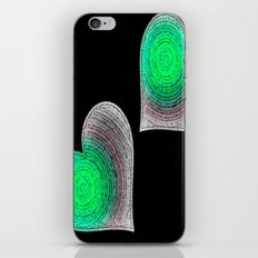 Groovy Hearts iPhone & iPod Skin