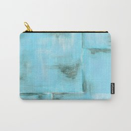 Frost, Abstract Art Painting Carry-All Pouch