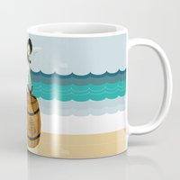 moby Mugs featuring Captain Moby by Napa