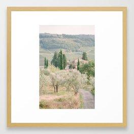 Tuscany I Framed Art Print