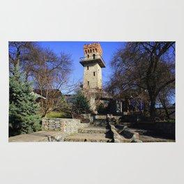 Ancient watchtower. Rug