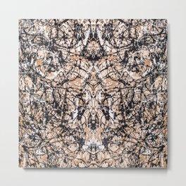 Reflecting Pollock Metal Print