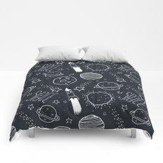 Space Doodles Comforters