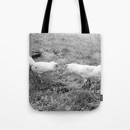 Pecking Order Tote Bag