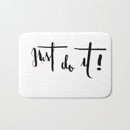 Just Do It Bath Mat