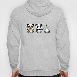 Three Little Pandas Hoody