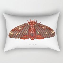 Regal Moth Rectangular Pillow
