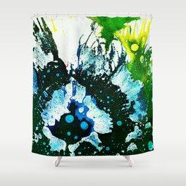 Polychromoptic #2C by Michael Moffa Shower Curtain
