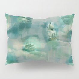 Ghostly Galleons by Katrina Ward Pillow Sham