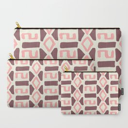 Pink Fall Tribal #society6 #tribal Carry-All Pouch