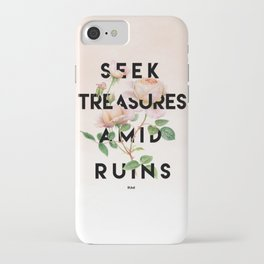 Seek Treasure iPhone Case