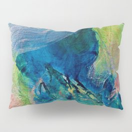 Green Dancing Leaves 2013 Pillow Sham