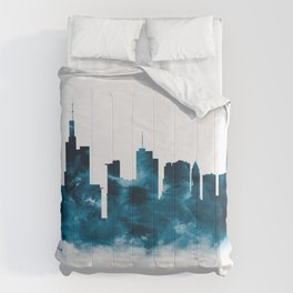 Frankfurt Skyline Comforters